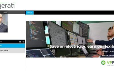 Engerati. Webinar z prezesem VPPlant