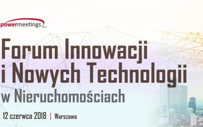 driv2e na Forum Innowacji i Nowych Technologii w Nieruchomościach